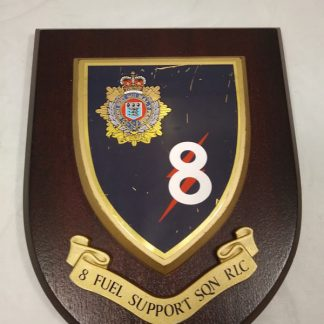 8 Fuel Support Signals Mess Wall Plaque