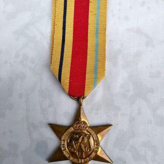 Africa Star medal WW2