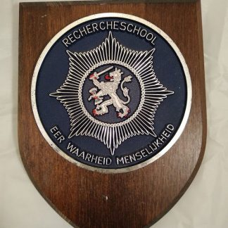 Belgium Police Mess Regiment Wall Plaque