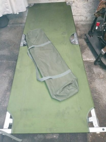 British Army Heavy Duty Folding Camp Bed