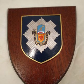 Cape Town Highlanders Mess Wall Plaque