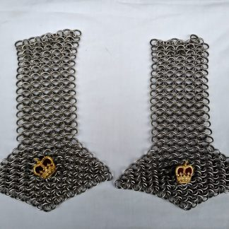 Chain mail Shoulder Boards from uniform of Royal Company of Archers