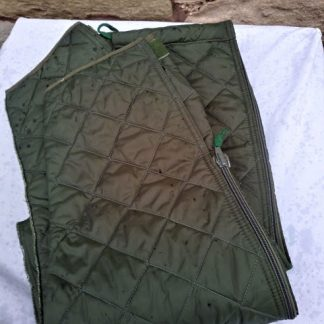 Cold weather padded trouser liners