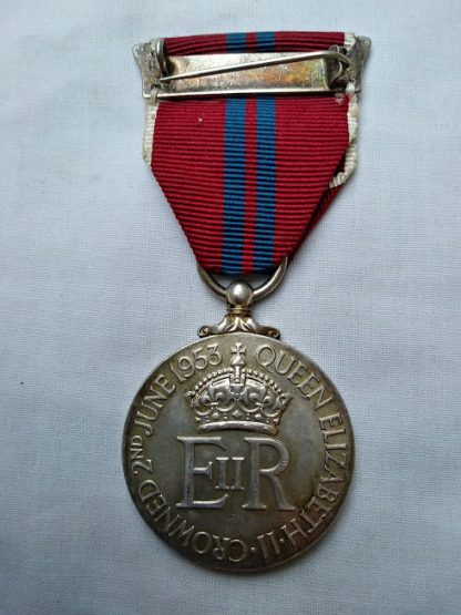 Coronation Medal Queen Elizabeth 1953