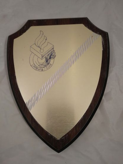 Dutch Police Brigade Regiment Mess Wall Plaque