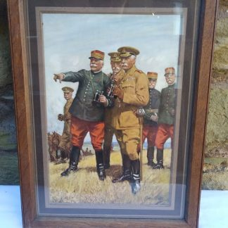 Framed print Sep.e.Scoll 1914-1918 well renowned illustrator & artist
