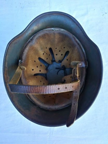 German Luftwaffe helmet Double Decal 1941 dated