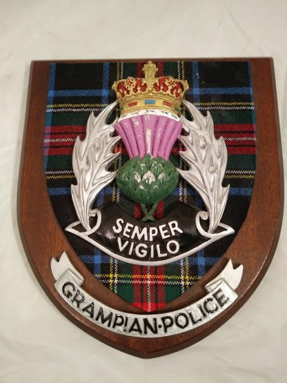 Grampian Police Brigade Regiment Wall Plaque