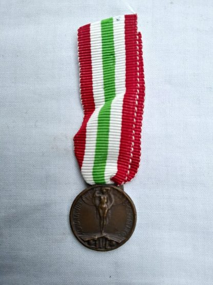 Great War For the Unity of Italy Medal
