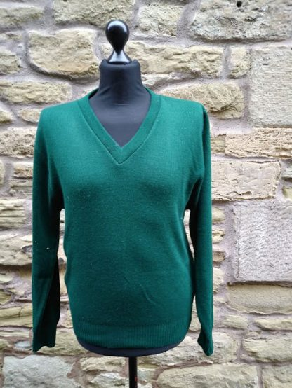 'Land Army' style ladies green jumper