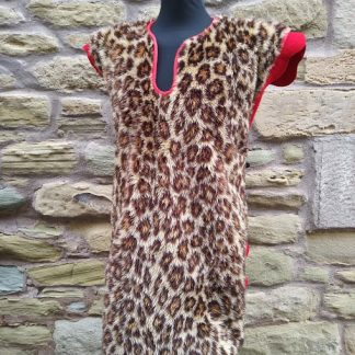 Leopard skin drummer tunic Genuine Military Regimental