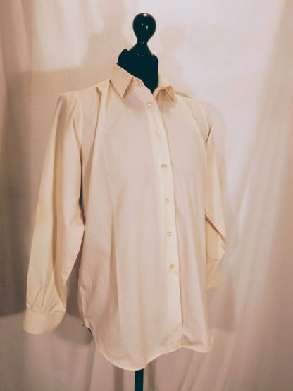 Long Sleeve Cream Shirt