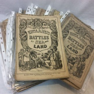 Magazine England's Battle by Sea and Land Approx C1890