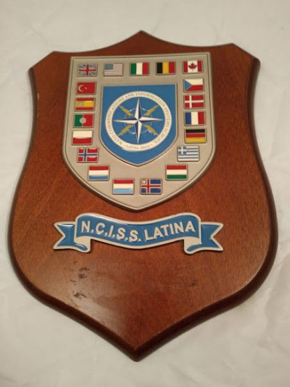 N.C.I.S.S. Latina Mess Wall Plaque