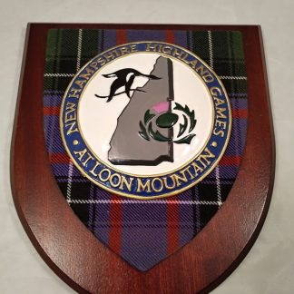 New Hampshire Highland games at Loon Mountain Mess Wall Plaque