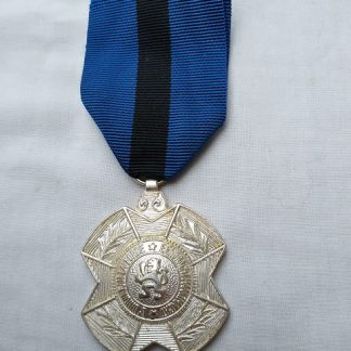 Order of Leopold II Belgium Silver colour medal
