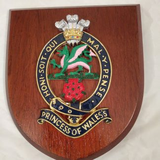 Princess of Wales Regiment Mess Wall Plaque