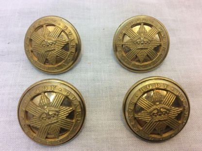 Royal Company of Archers, Kings Crown Buttons