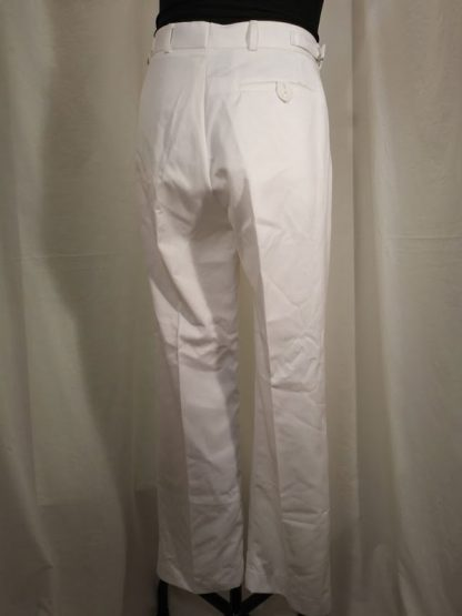 Royal Navy Officers & Class 1 Man's White Trousers