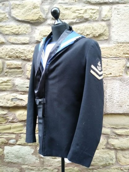 Royal Navy Square Top and Sailors class II Middy Jacket