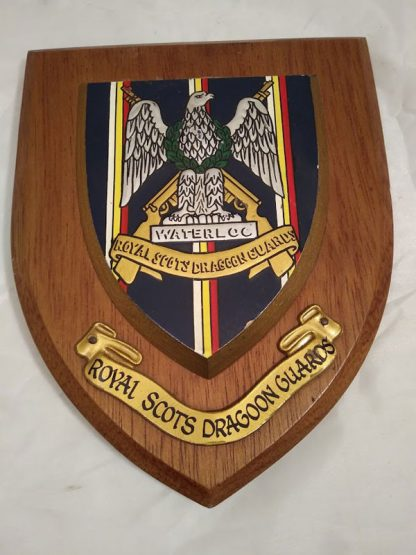 Royal Scots Dragoon Guards Regimental Mess Wall Plaque