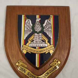 Royal Scots Dragoon Guards Regimental Wall Mess Plaque
