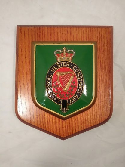 Royal Ulster Constabulary Mess Wall Plaque