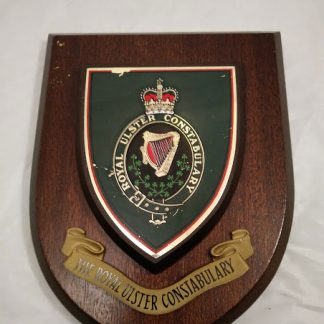 The Royal Ulster Constabulary Brigade Mess Wall Plaque