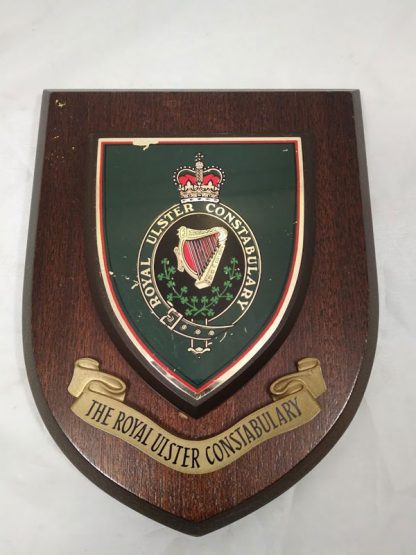 The Royal Ulster Constabulary Mess Wall Plaque