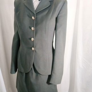 WRAC (Women's Royal Army Corps) Uniform. Jacket, Skirt, Blouse & Tie