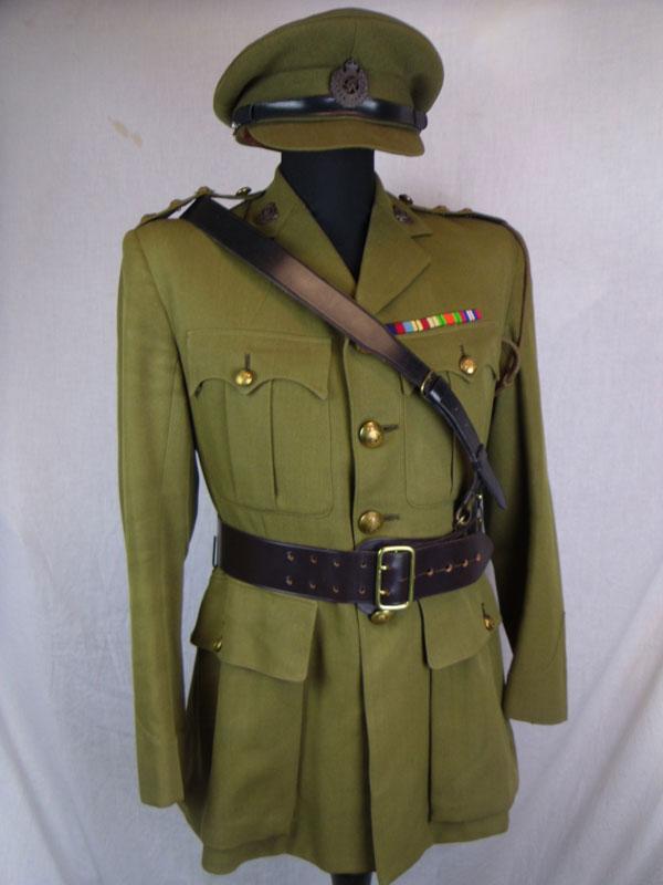WW2 British Officer Uniform - Walk This Way
