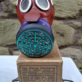 WW2 Childs Mickey Mouse Gas Mask