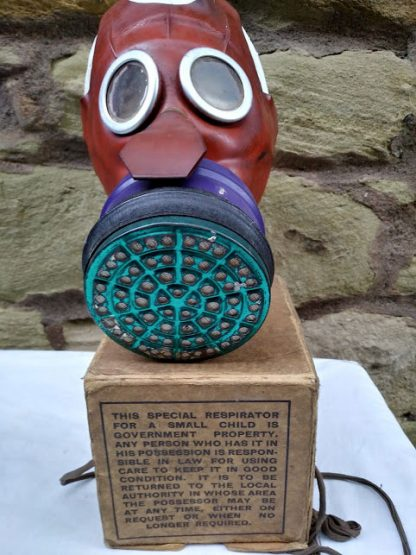 WW2 Child's Mickey Mouse Gas Mask
