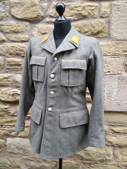 Woolen Austrian or German Military Jacket