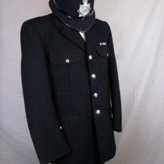 British policeman uniform