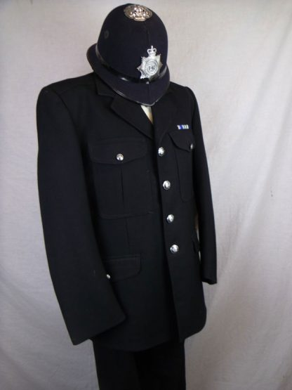British policeman uniform