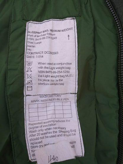 British Army Modular Medium Weight Sleeping bag Current Issue