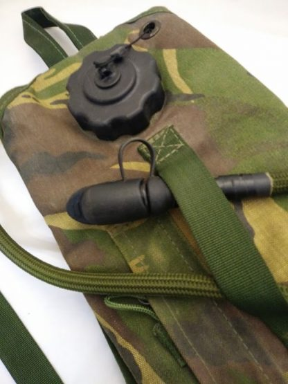 3 litre water bladder, with canvas woodland dpm cover