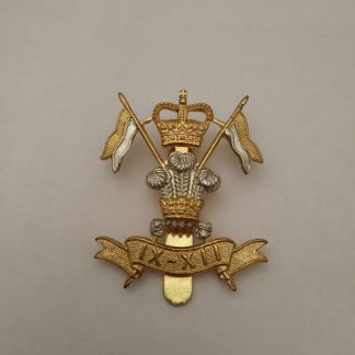 9th12th Lancers Cap Badge