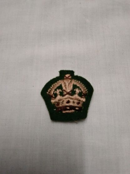 British Army officer Cloth Rank insignia pip