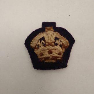 British Army officer Cloth Rank insignia pip