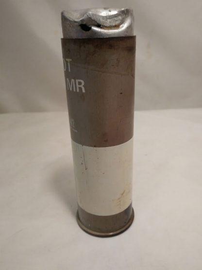 British Army round a riot 1.5in baton