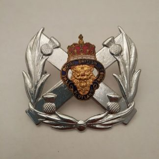 British Legion Standard bearers Glengarry bonnet cap badge