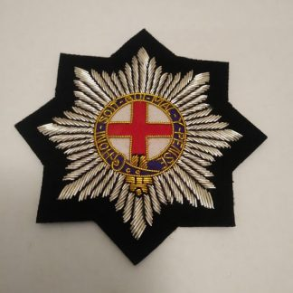 Coldstream Guards bullion patch badge