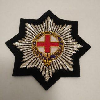 Coldstream Guards bullion patch badge