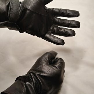 French Leather Gloves Military