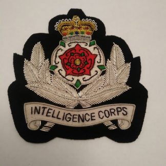 Intelligence Corps bullion regimental Patch Badge