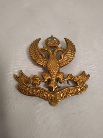 Lanarkshire Yeomanry (JR Gaunt) cap badge