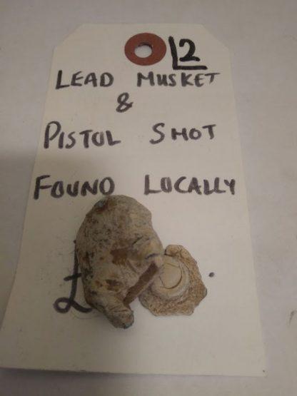 Lead Musket & Pistol Shot, 2