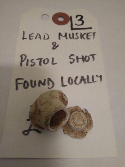 Lead Musket & Pistol Shot, 3